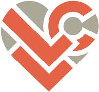 Lettuce Love Cafe heart logo