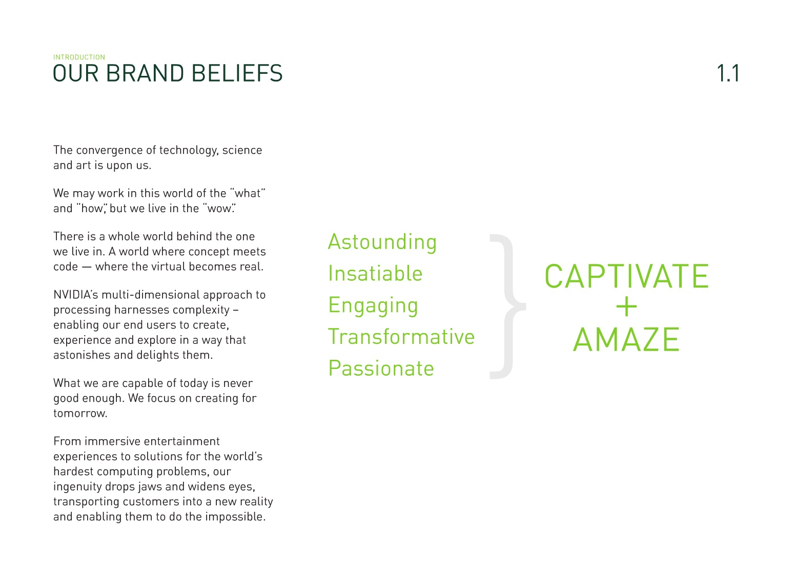 brand standards guide brand marketing blog example from nvidia
