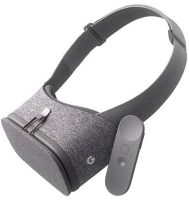 Daydream View VR headset with remote controller