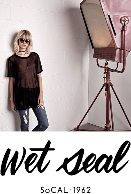 Model for Wet Seal. Wet Seal So Cal 1962