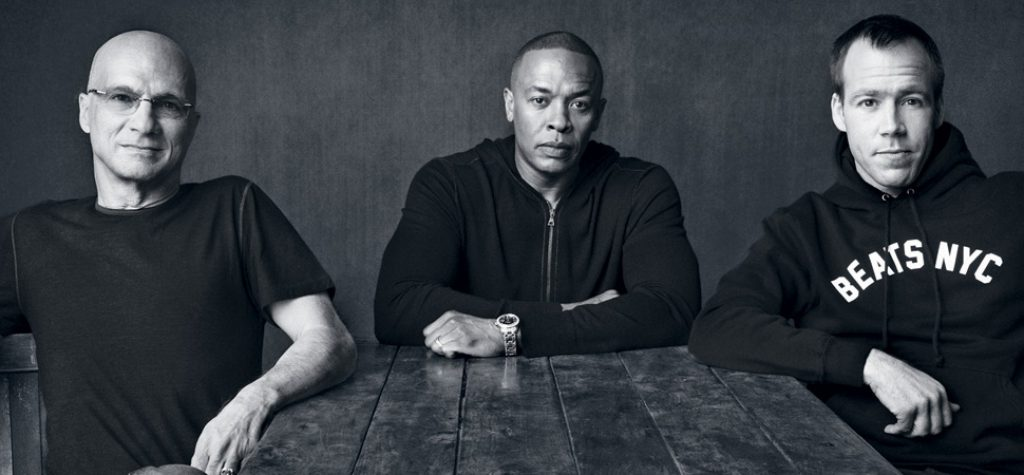 Jimmy Iovine, Dr. Dre and Luke Wood