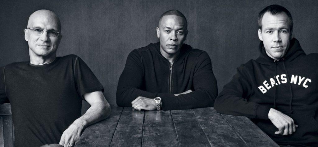Jimmy Iovine, Dr. Dre and Luke Wood