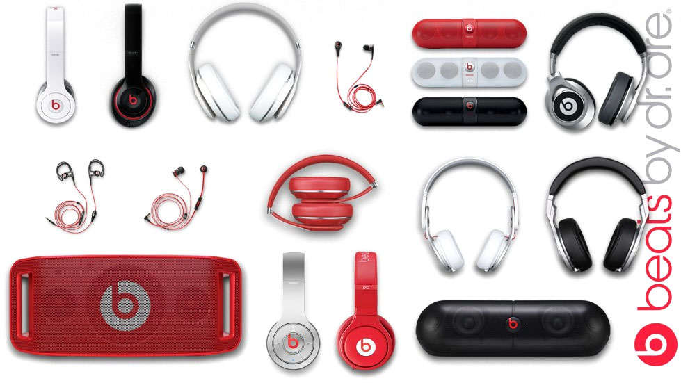 Beats Product Line. Beats Studio, Beats Pill, urBeats, Beats Solo