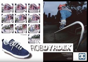 DC Shoes magazine ad featuring Rob Dyrdek