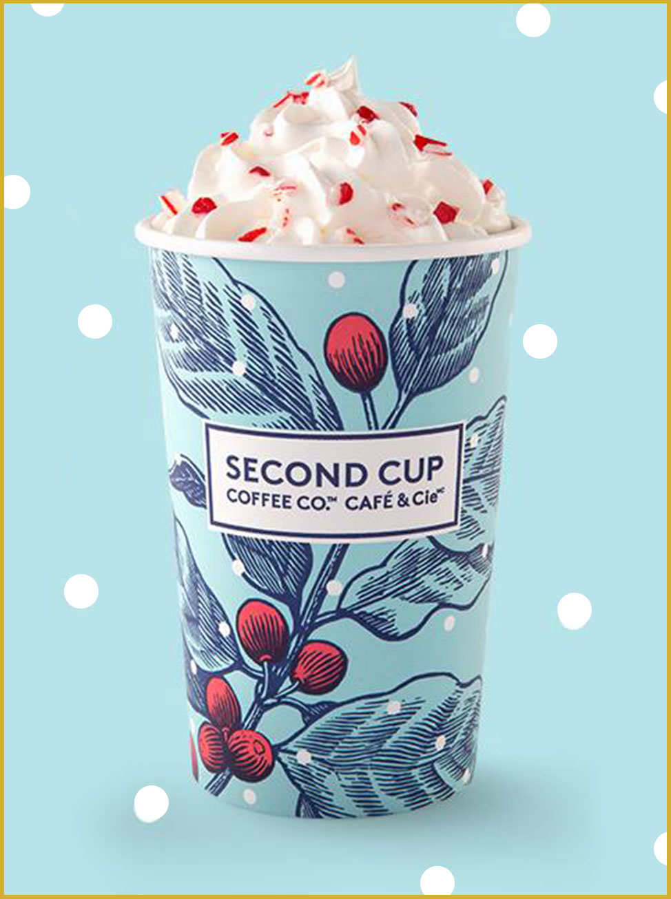 Second Cup Holiday Cup for 2017
