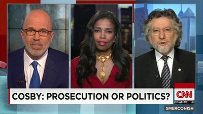 Areva Martin on CNN talking about Bill Cosby's prosecution.