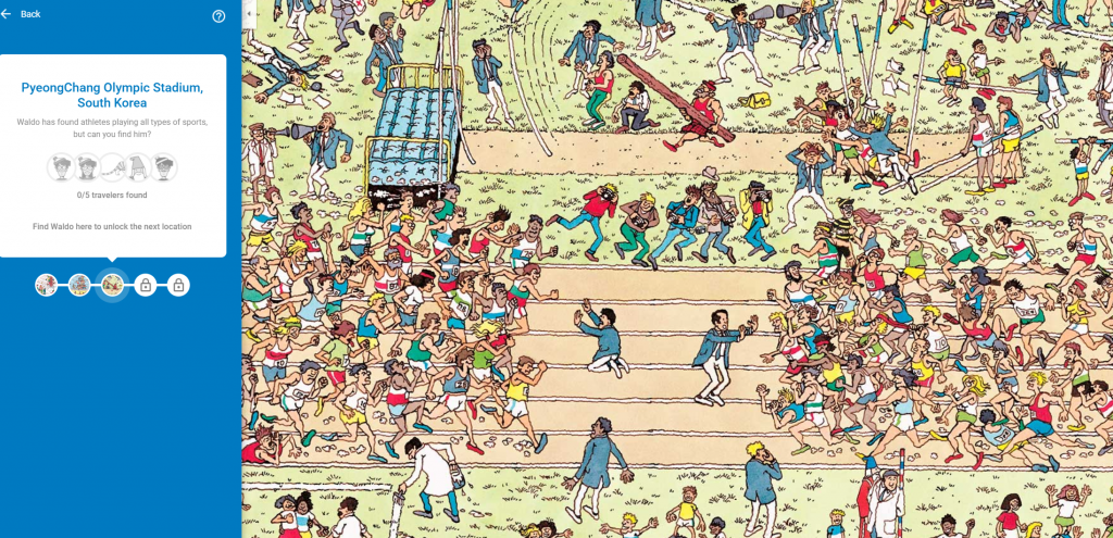 google maps where's waldo mini game april fools 2018