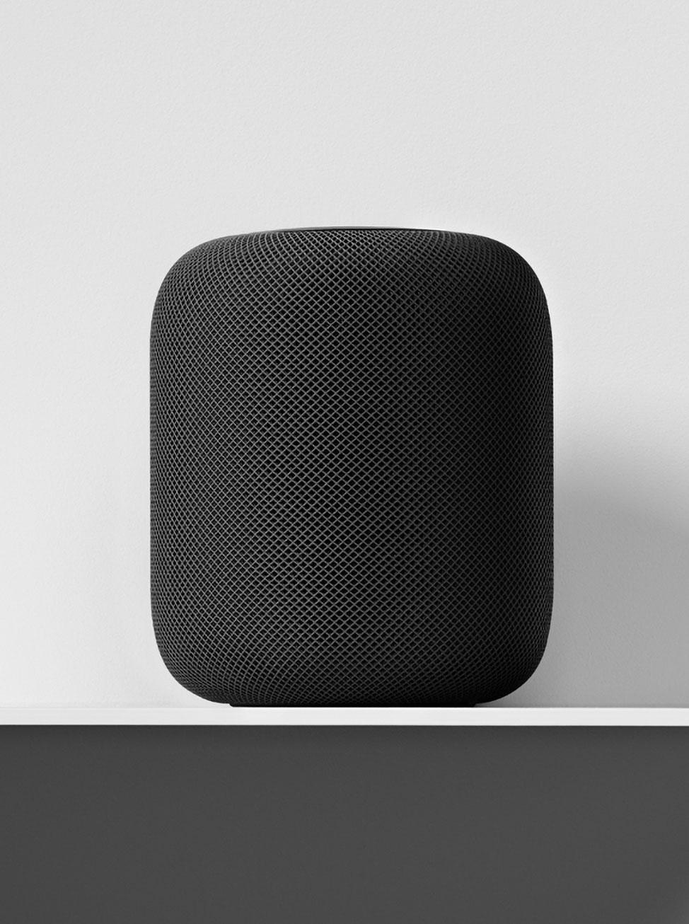 Apple HomePod smart speaker design