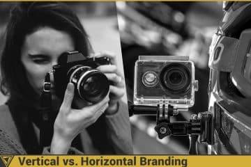 Branding of Sony Alpha vs GoPro Hero