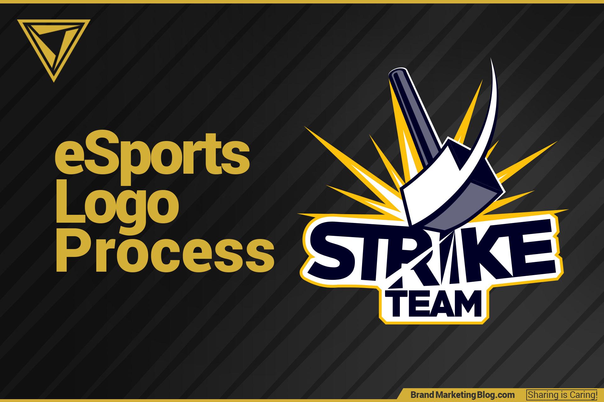 eSports logo process