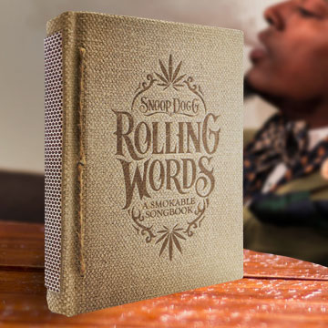 Snoop Dogg Rolling Papers smokable songbook