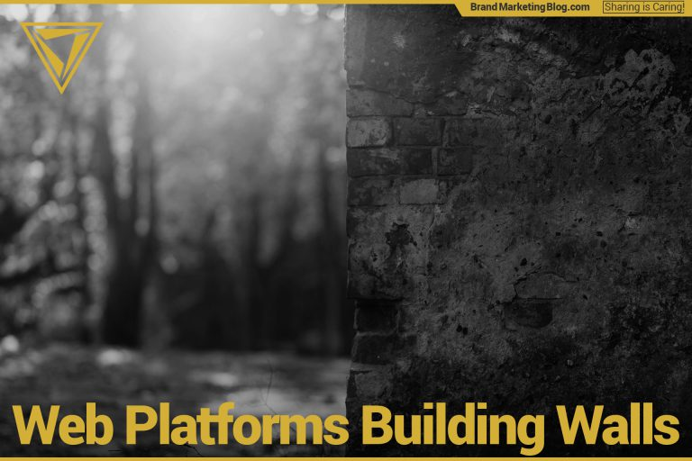 Web Platforms Building Walls. Black and white image of a wall with a forest in the background.