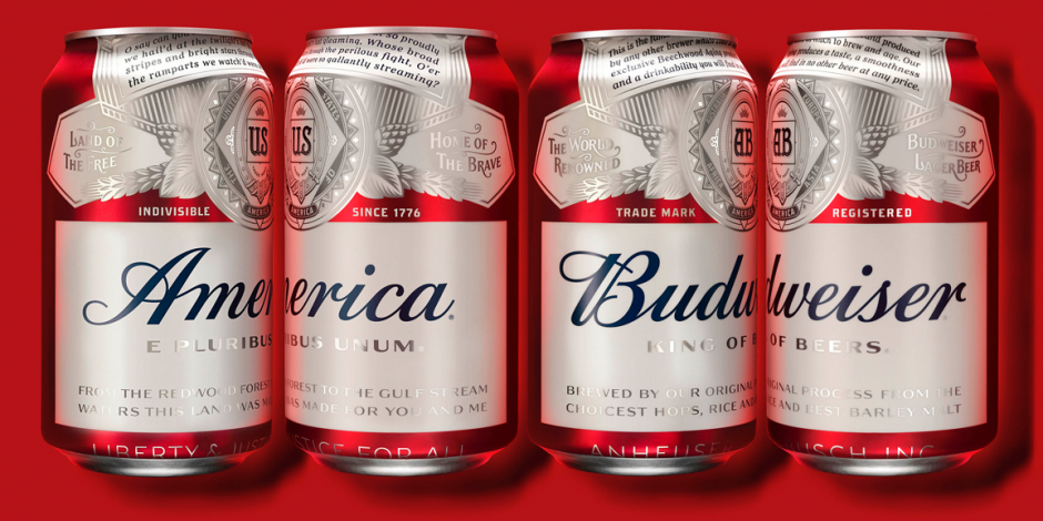 Budweiser America can design