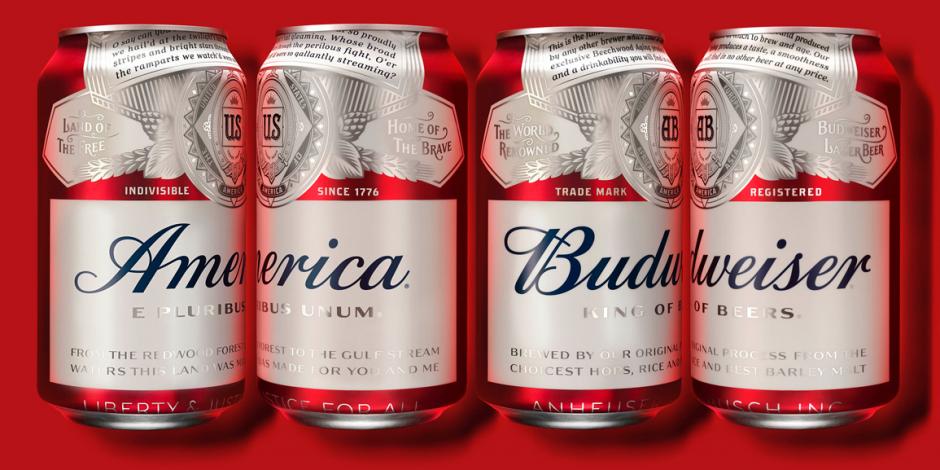 Budweiser America can design