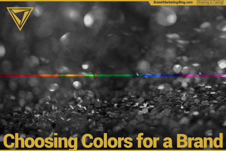 Choosing colors for a brand