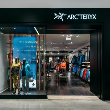 The Arc'teryx store in Edmonton