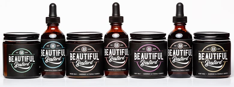 Philip Defranco's line of hair care products: Beautiful Bastard