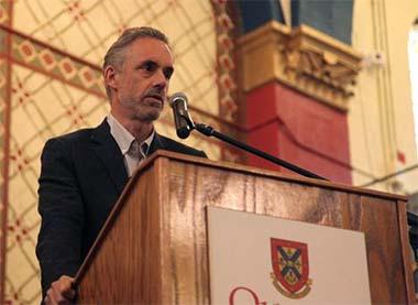 Jordan Peterson lecturing at Oxford University