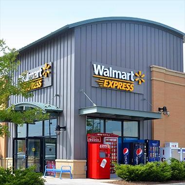 Walmart Express storefront