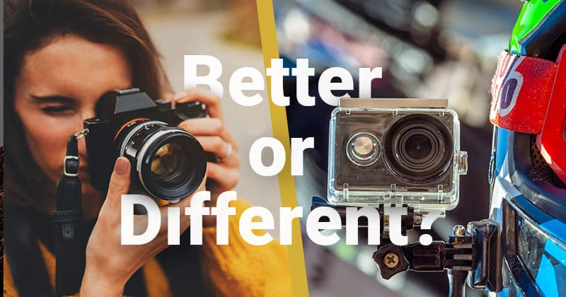 Better of Different? Branding of Sony Alpha vs GoPro Hero