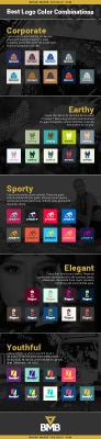 Logo color infographic thumbnail