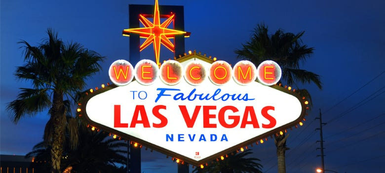 Neon Sign. Welcome to fabulous Las Vegas Nevada.