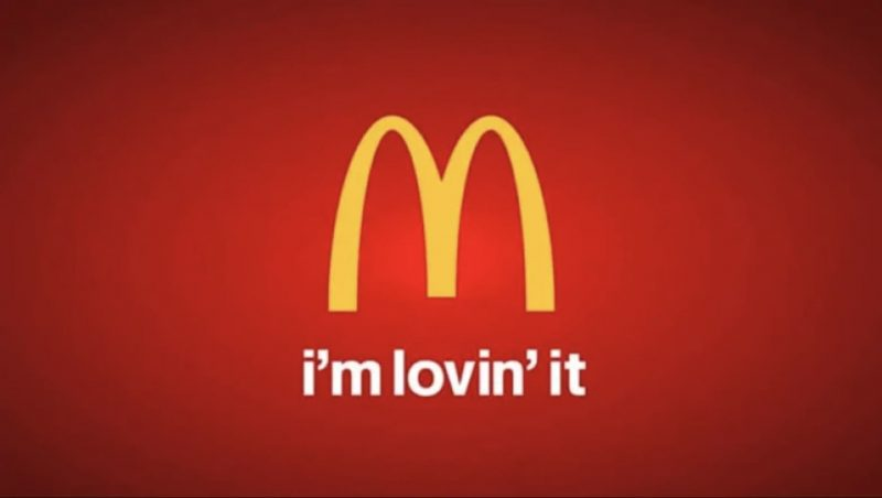 McDonald's. I'm Lovin' It.