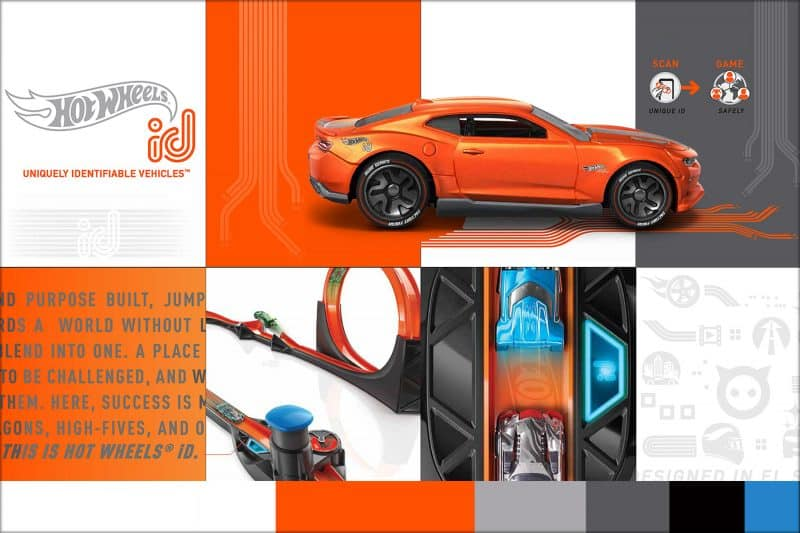 Hot Wheels id brand identity