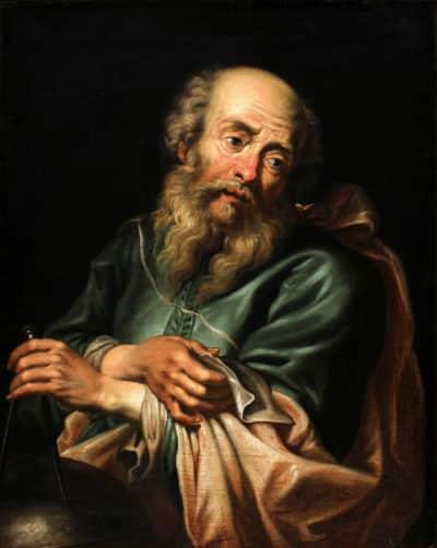Painting of Galileo Galilei